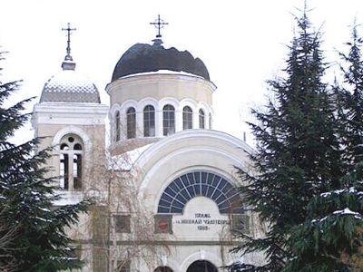 Church Of St Nicholas In The Winter