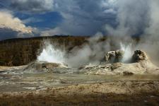 Churn Geyser - Yellowstone - USA