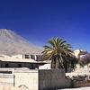 Cidade Aos Pés Do Vulcão El-Misti