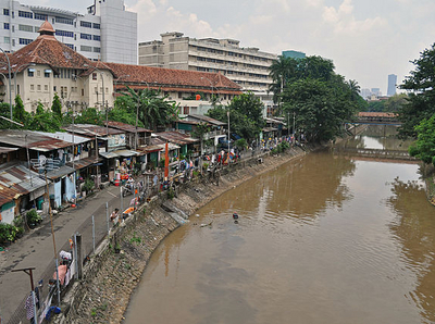 Ciliwung At Jakarta