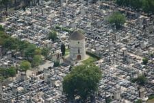 View Of Montparnasse Cemetery