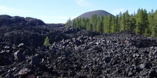 Cinder Cone From The Fantastic Lava Beds