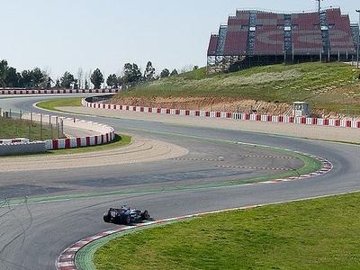 Circuit De Catalunya Turns