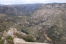Cirque De Navacelles Valley