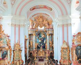 Abadía cisterciense Iglesia