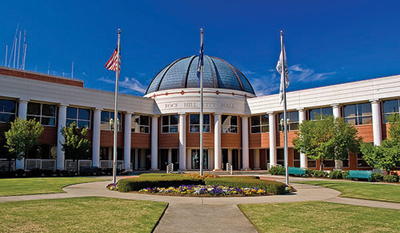 City  Hall Of  Rock  Hill