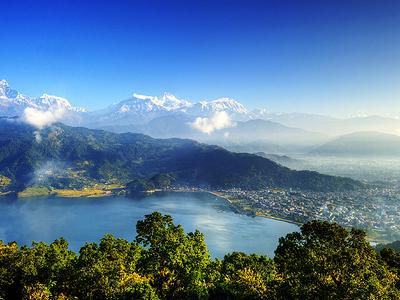 City Of Pokhara & Phewa Lake