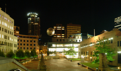 Panorama Of Civic Square