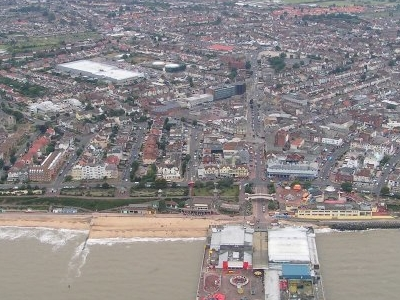 Clacton On Sea From The Air