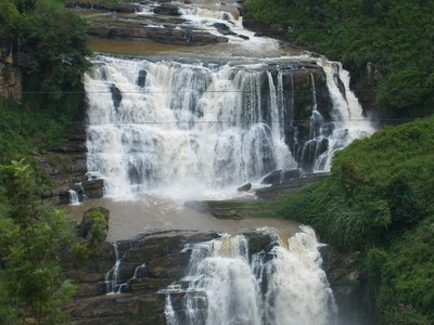 Clair's Falls In Talawakele, Sri Lanka