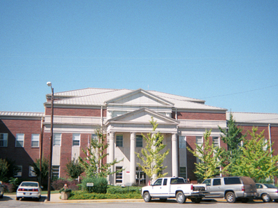 Clarke County Courthouse In Grove Hill