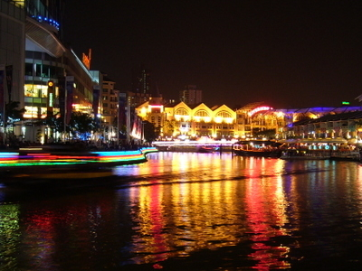 Clarke Quay Night