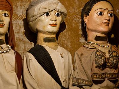 Clay Models At Shilparamam