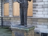 Statue At Limehouse Library
