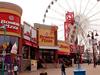 Clifton Hill Entertainment Area At Niagara Falls
