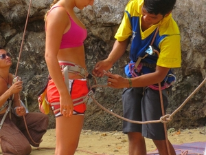1/2 Day Rock Climbing Tours At Railay Beach,Krabi