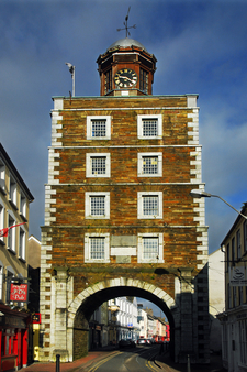 Clock Gate Front
