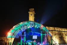 Clock Tower & Stage Set