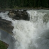 Closeup Of Athabasca Falls