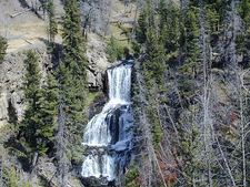 Close-Up View Of Undine Falls