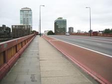 Closeup View Of Vauxhall Bridge