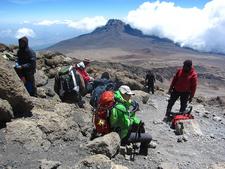 Closing On To The Summit - Kilimanjaro