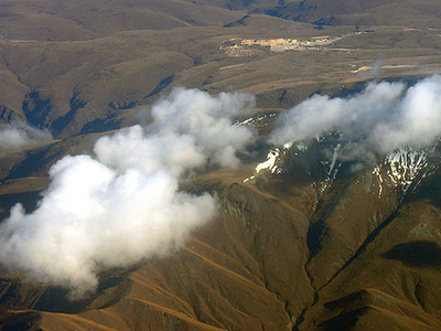 Clouds Over Otago - Aerial View