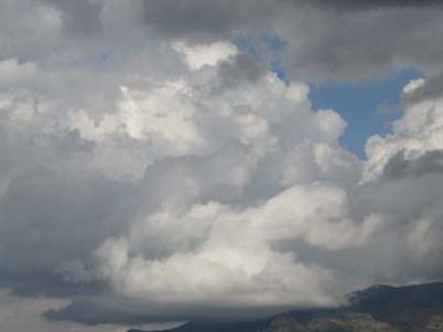 Clouds Over Schell Creek Range
