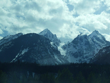 Cloudveil Dome - Grand Tetons - Wyoming - USA