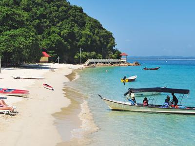 Coast Of Marang Is Pulau Kapas