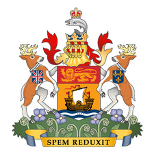 Coat Of Arms Of New Brunswick