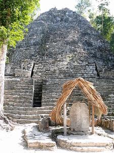 Coba Group Pyramid - Quintana Roo - Mexico