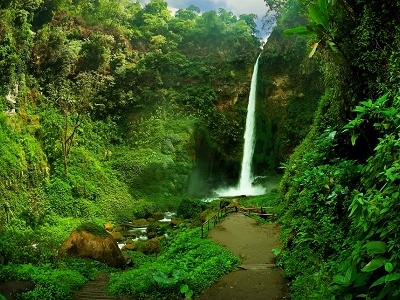 Coban Pelangi - Rainbow Waterfalls - East Java