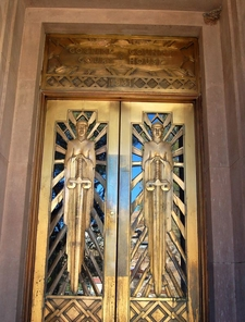 Cochise County Courthouse Bisbee Arizona Art Deco Doors