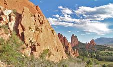 CO Colorado Springs - Garden Of The Gods Landscape