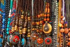Colaba Causeway Shop - Ethnic Jewelry Display - Mumbai