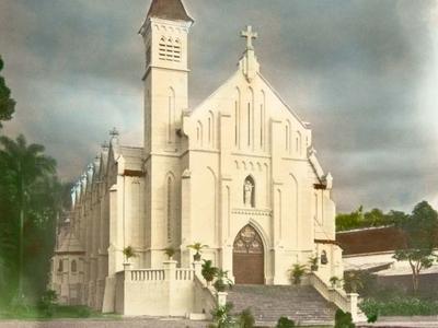 Roman Catholic Church At Buitenzorg