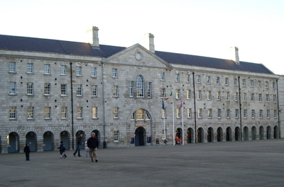 The Main Courtyard Of Collins Barracks