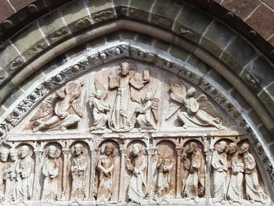 Tympanum Of The Church\\\'s
