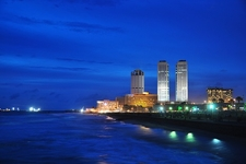 Colombo Skyline - Night View