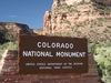 Colorado National Monument Entrance