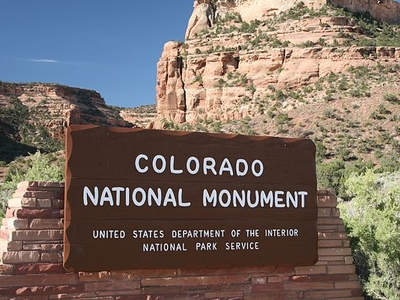 Colorado National Monument Entrance
