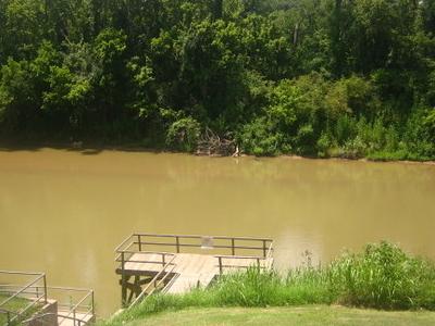 Colorado  River At  Wharton