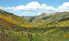 Colorful Valley On San Juan Skyway CO