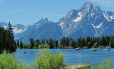 Colter Bay - Jackson Lake - Grand Tetons - Wyoming - USA