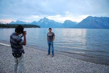 Colter Bay Lakeshore Trail- Grand Tetons - Wyoming - USA