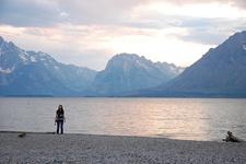 Colter Bay Lakeshore TrailAt Grand Tetons - Wyoming - USA