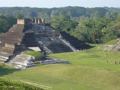 The Pyramids Of Comalcalco