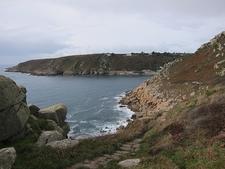 Coming Up Lamorna Cove - Cornwall UK
