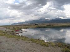 Comins Lake Fishing